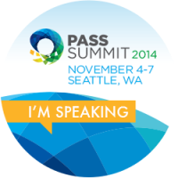 Im Speaking! PASS 2014