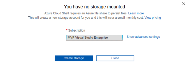 ACS storage