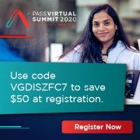 PASS Virtual Summit 2020